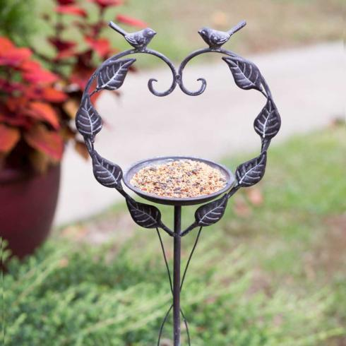 Plum Southern Exclusives   Love Birds Bird Feeder $29.00