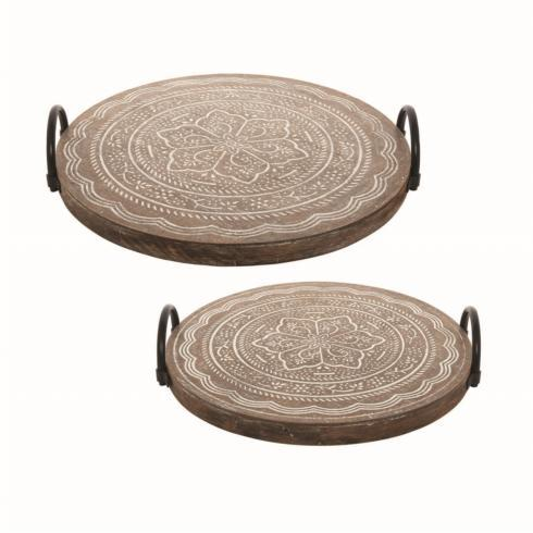Foreside Home & Garden   Adams Tray - Large $60.00