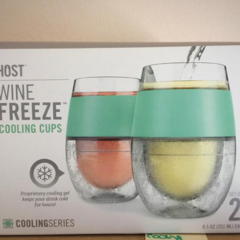 $28.99 Host Wine Freeze Cooling Cups (2)