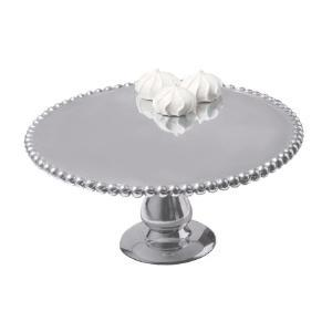 India Handicrafts   Beaded Cake Stand $36.00