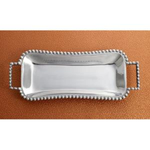 India Handicrafts   Tray (Beaded With Handles) $39.50