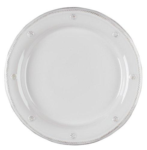 Plum Southern Exclusives   Dinner Plate - Berry & Thread (White) $45.00