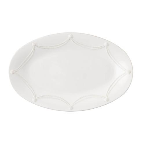 Plum Southern Exclusives   Large Oval Platter - Juliska Berry & Thread (white) $135.00