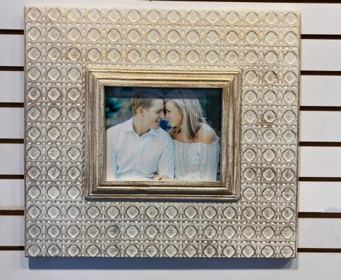 Plum Southern Exclusives   Wall Frame - (holds 8x10)  gold leaf $135.00