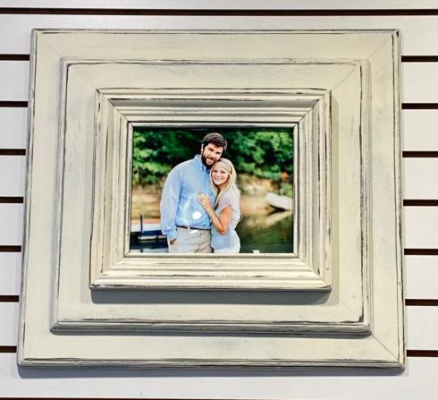 $130.00 Wall Frame - 8x10 white layered
