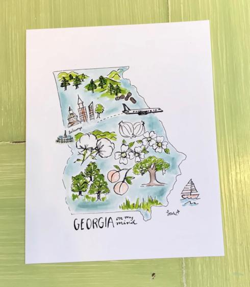 Art Print - Georgia on my Mind collection with 1 products