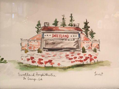 $24.50 Art Print (Sweetland  Amphitheater