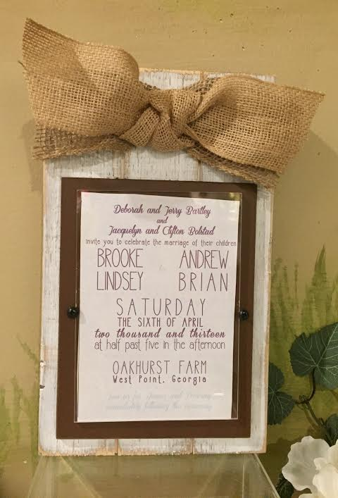 Picture Frame Invitation (or holds 5x7 pic) collection with 1 products