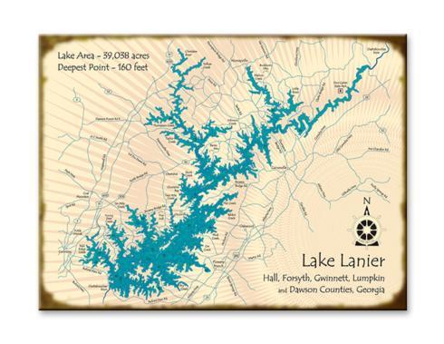 $155.00 Lake Sign - 28x38 (Lake Lanier