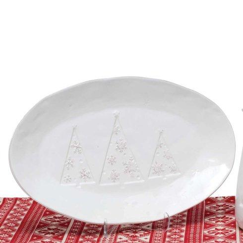 $42.00 Ceramic Tree Platter