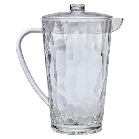 $25.50 Pitcher - Cascade 2 QT.  Clear