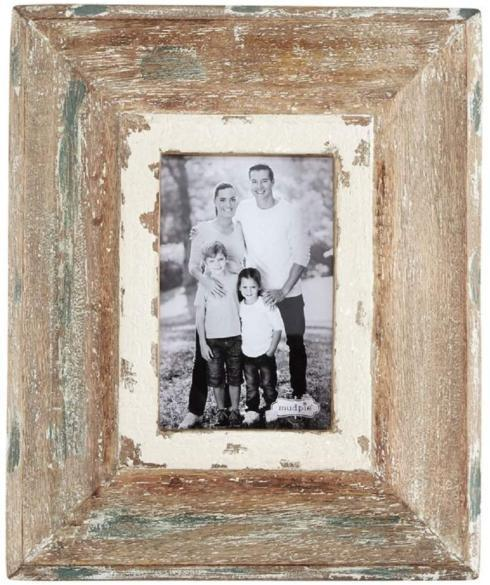 $33.00 Weathered Rustic Picture Frame 4x6