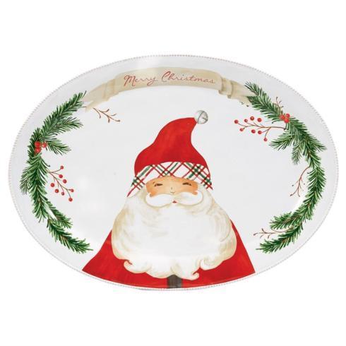 $54.00 Platter - Santa