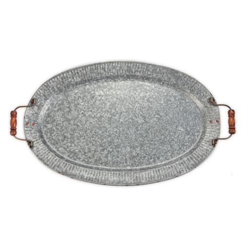 Galvanized Tray with Handles collection with 1 products