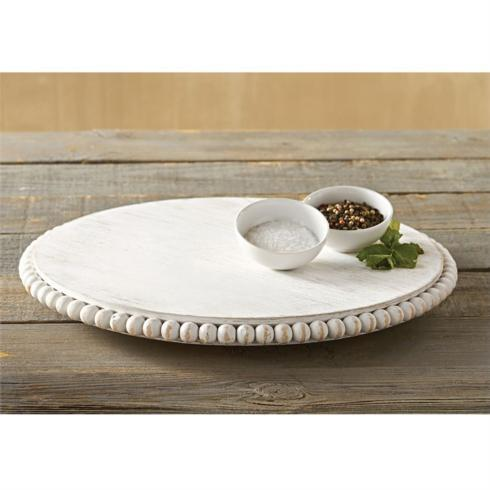 Lazy Susan - White Washed collection with 1 products