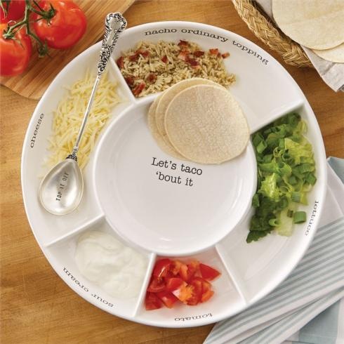 Mud Pie   Taco Bar Set $56.50