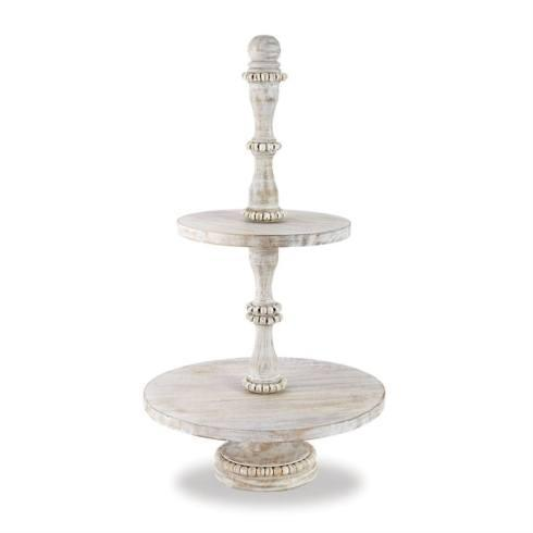 Mud Pie   3-Tier Serving Tray $78.50
