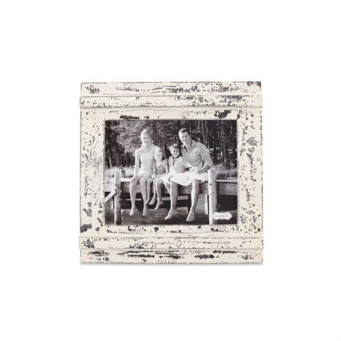 Mud Pie   Picture Frame - Distressed white (holds 8x10) $45.00