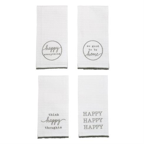 Mud Pie   Hand Towel - Happy Everything $7.99