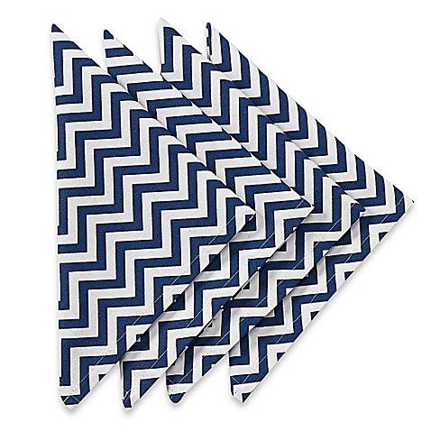 Napkin Zig Zag Indigo collection with 1 products