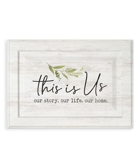 Wall Sign - 15x10 - This Is Us collection with 1 products