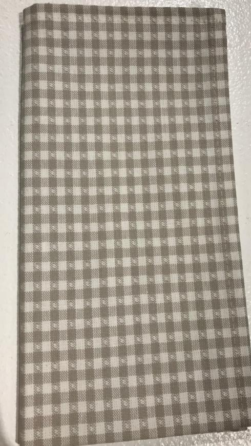 Plum Southern Exclusives   Napkin - Gray Check $10.00