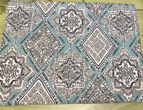 Plum Southern Exclusives   Placemat Tribal Elements  $15.50
