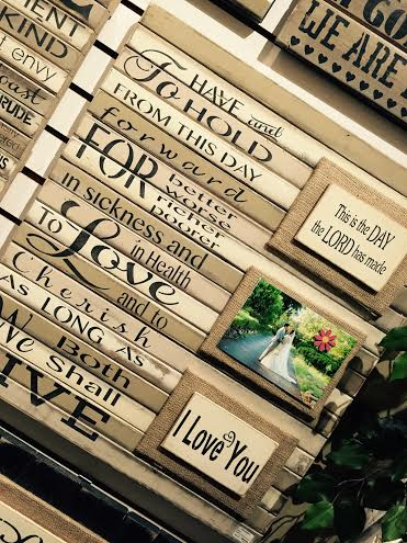 Wall Art 1st Corinthians with 3 pic spaces collection with 1 products