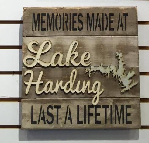 $39.00 Memories at the Lake 14x14(Customize)