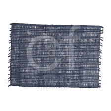 Placemat Rectangle Loom Indigo collection with 1 products