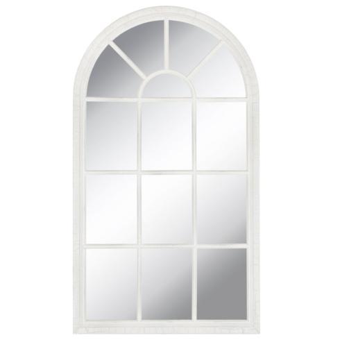 $56.50 Arch Mirror - White