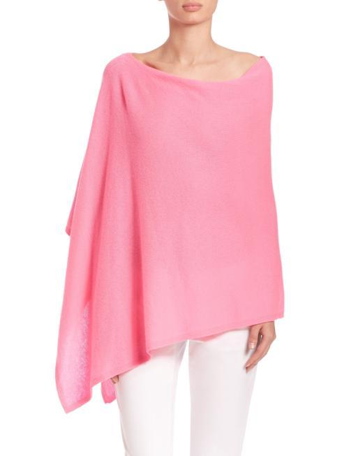 $35.00 Poncho - (lightweight - 4 seasons) Bubble Gum!