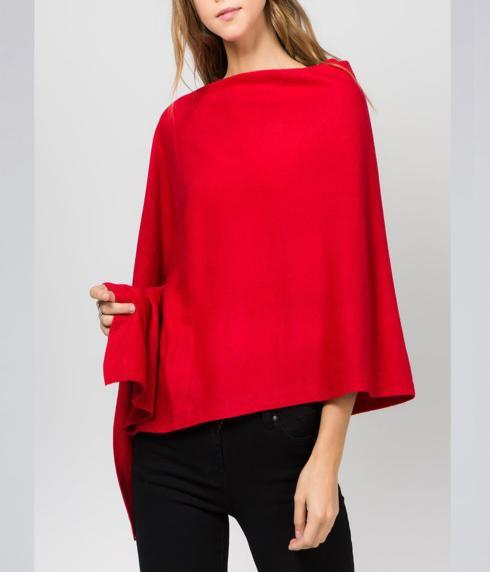 $35.00 Poncho - (lightweight - 4 season) Red!