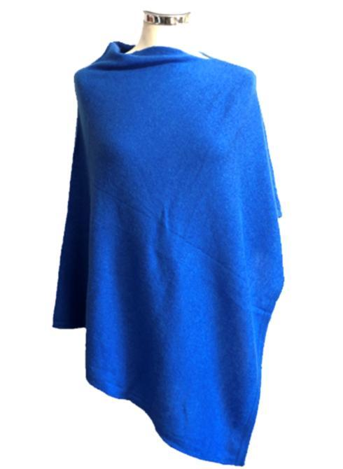 Poncho - (lightweight - 4 season) Royal Blue!