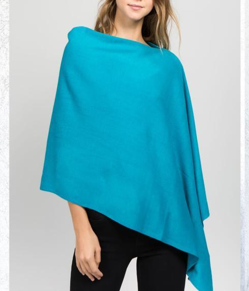 $35.00 Poncho - (lightweight - 4 season) Turquoise!
