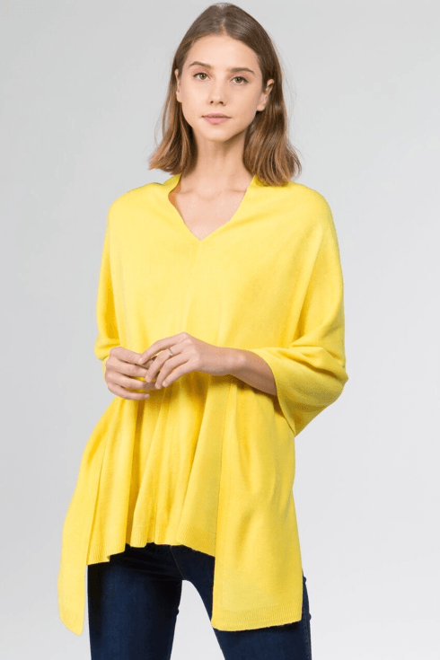 $35.00 Poncho - (lightweight - 4 season) Yellow!