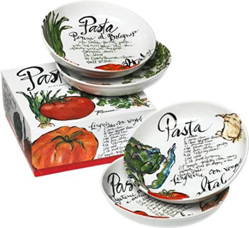 $49.50 Pasta Bowl (Set 4) wBox