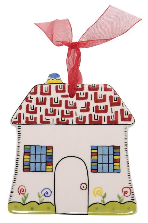 $10.50 Simply Christmas House Ornament