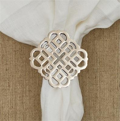 Split P   Napkin Ring Medallion $7.00