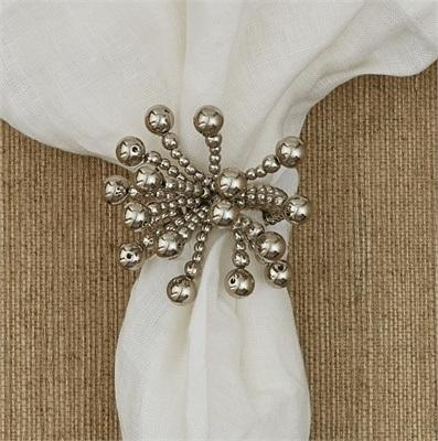 Split P   Napkin Ring (Beads) $6.00