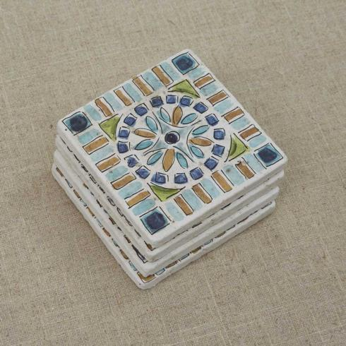 Coasters - Mediterranean Tile Set4 collection with 1 products