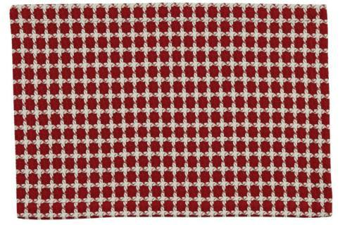 $10.50 Placemat - Crossings Red