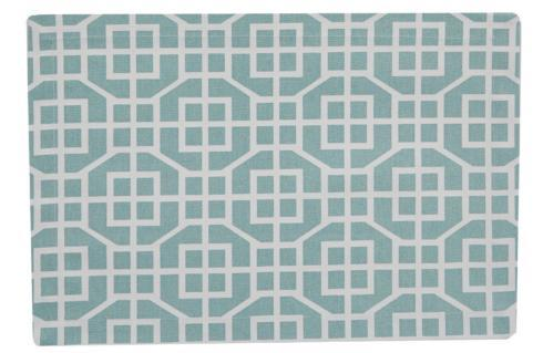 Placemat - Garden Gate Aqua collection with 1 products