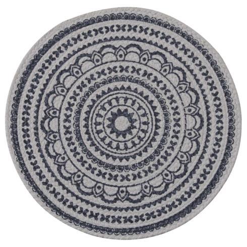 $11.50 Placemat - Zuri (Navy)