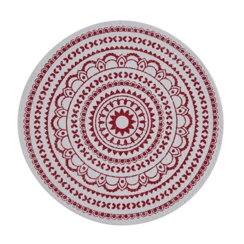 $11.50 Placemat - Red Medallion