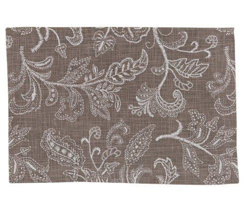 Plum Southern Exclusives   Placemat - Stitches taupe $9.00