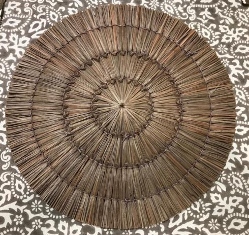 $10.50 Placemat -  Seagrass Brown