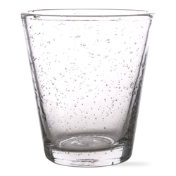 $9.01 Bubble Glass 10oz. Tapered Juice Glass