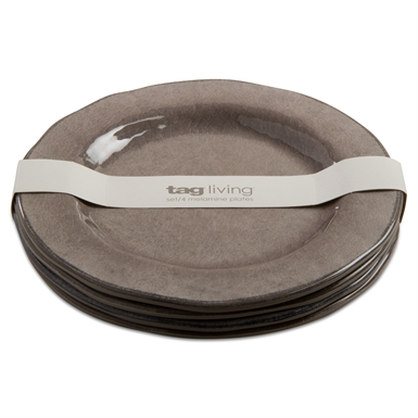 Melamine Warm Gray Salad Plate (PRICED INDIVIDUALLY) collection with 1 products