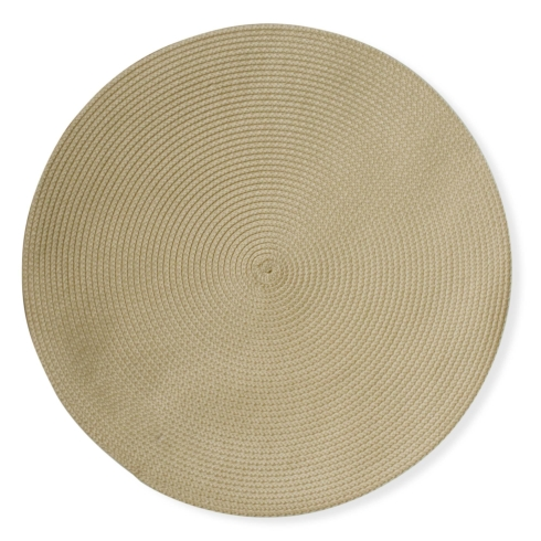 Round Woven Placemat (Natural) collection with 1 products